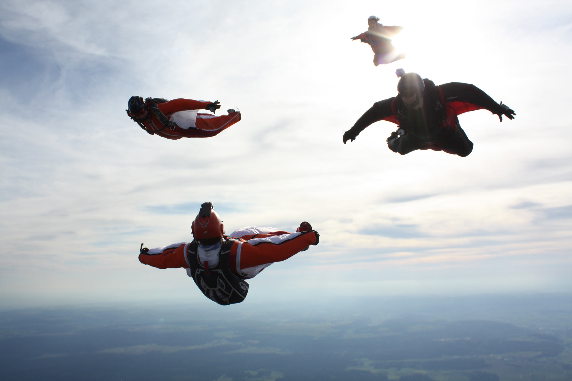 Betreutes Fliegen mit Ulli Wambach © Jukka Biehl